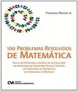 100 Problemas Resolvidos De Matematica A Pagina Distribuidora De Livros